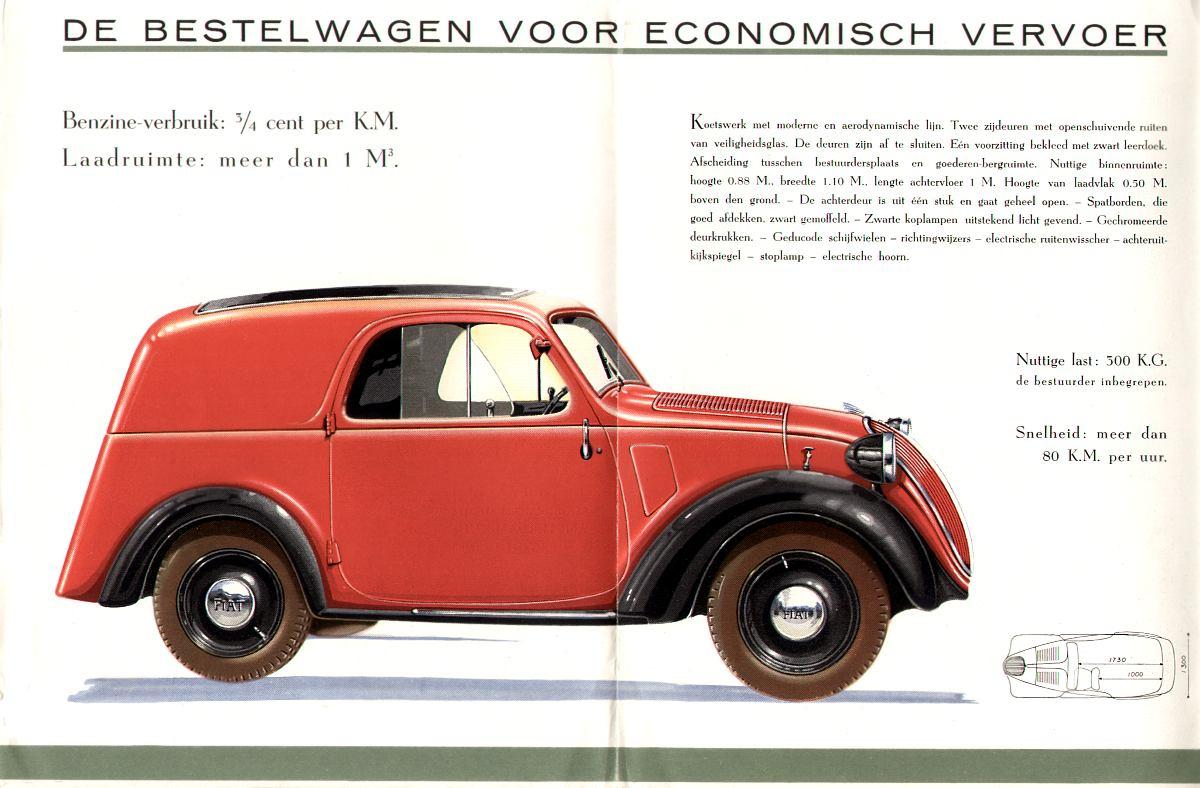 Fiat Topolino - 500 A